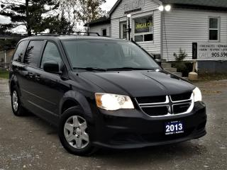 Used 2013 Dodge Grand Caravan NO ACCIDENTS 1-OWNER STOW'N'GO CRUISE POWER GROUP A/C for sale in Sutton, ON