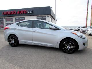 Used 2013 Hyundai Elantra GLS 6 SPEED MANUAL NO ACCIDENT CERTIFIED 2YR WARRANTY for sale in Milton, ON