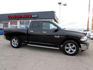 Used 2016 RAM 1500 Quad Cab 4WD DIESEL BIG HORN CAMERA CERTIFIED for sale in Milton, ON