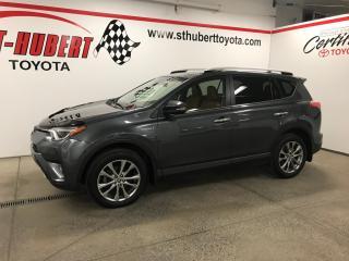 Used 2016 Toyota RAV4 Limited, NAVIGATION, HYBRIDE for sale in St-Hubert, QC