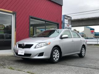 Used 2010 Toyota Corolla CE for sale in Coquitlam, BC