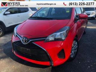 Used 2015 Toyota Yaris LE  AUTOMATIC, A,C, KEYLESS ENTRY FWD, HATCHBACK, LOW MILEAGE for sale in Ottawa, ON