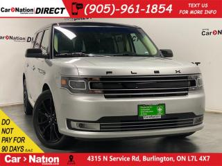 Used 2019 Ford Flex Limited| AWD| LEATHER| NAVI| SUNROOF| for sale in Burlington, ON
