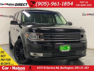 Used 2019 Ford Flex Limited| AWD| LEATHER| SUNROOF| NAVI| for sale in Burlington, ON