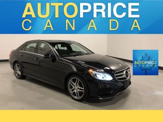 Used 2016 Mercedes-Benz E-Class SPORT PKG|NAVIGATION|PANROOF for sale in Mississauga, ON