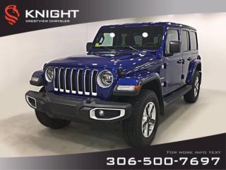New 2020 Jeep Wrangler Unlimited Sahara | Navigation | Remote Start for sale in Regina, SK