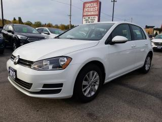 Used 2015 Volkswagen Golf 1.8 TSI Trendline BLUE TOOTH !!  HEATED SEATS !! for sale in Cambridge, ON