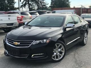 Used 2019 Chevrolet Impala Premier - Navigation -  Premier Luxury for sale in Mississauga, ON