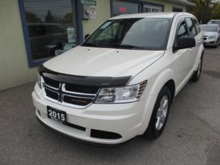 Used 2015 Dodge Journey GAS SAVING SE EDITION 5 PASSENGER 2.4L - DOHC.. TOUCH SCREEN.. CD/AUX/USB INPUT.. KEYLESS ENTRY & START.. for sale in Bradford, ON