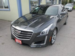 Used 2015 Cadillac CTS LOADED V-SPORT EDITION 5 PASSENGER 3.6L - TWIN TURBO.. NAVIGATION.. SUNROOF.. LEATHER.. HEATED/AC SEATS.. BACK-UP CAMERA.. BLUETOOTH.. for sale in Bradford, ON