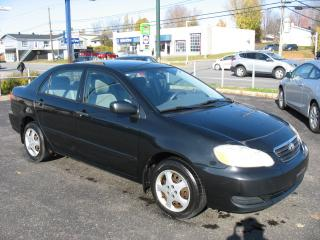 Used 2005 Toyota Corolla CE TOUT EQUIPE for sale in Quebec, QC