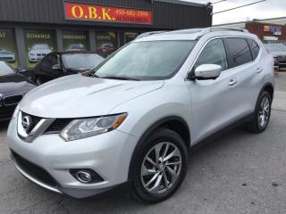 Used 2015 Nissan Rogue TECH PKG-AWD-NAVIGATION-TOIT PANORAMIQUE-CAM RECUL for sale in Laval, QC