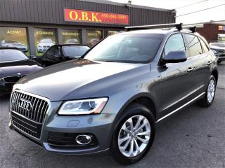 Used 2016 Audi Q5 QUATTRO-NAVIGATION-CAM RECUL-TOIT OUVT PANORAMIQUE for sale in Laval, QC