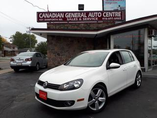 Used 2012 Volkswagen Golf VW for sale in Scarborough, ON