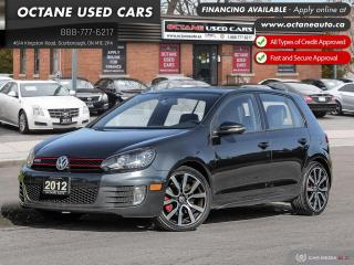 Used 2012 Volkswagen Golf GTI 5 portes One Owner! Push Button Start! for sale in Scarborough, ON