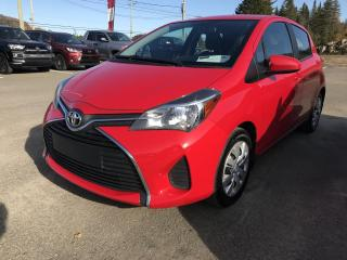 Used 2015 Toyota Yaris Hayon 5 portes, boîte manuelle, LE for sale in Val-David, QC