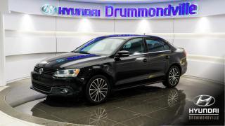 Used 2014 Volkswagen Jetta HIGHLINE + GARANTIE + CUIR + TOIT + WOW for sale in Drummondville, QC