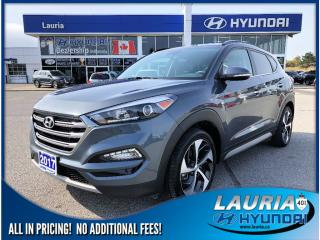 Used 2017 Hyundai Tucson 1.6T AWD Ultimate - Loaded - Like New! for sale in Port Hope, ON