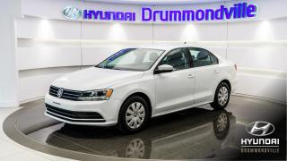 Used 2016 Volkswagen Jetta TRENDLINE PLUS + 31 446KM + GARANTIE !! for sale in Drummondville, QC