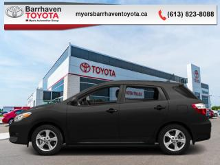 Used 2014 Toyota Matrix 4DR WGN FWD MT  - $107 B/W for sale in Ottawa, ON