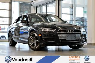 Used 2017 Audi A4 Technik * B&O *** Réservé *** for sale in Vaudreuil-Dorion, QC