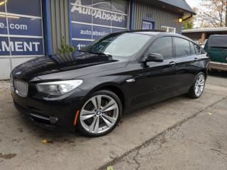 Used 2010 BMW 535 550i + gt + navi + caméra for sale in Boisbriand, QC