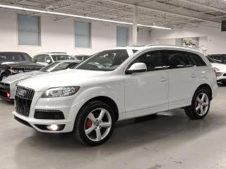 Used 2014 Audi Q7 TDI/TECHNIK/SLINE/360 CAMERA/PANO/BLIND SPOT/7PASSENGER! for sale in Toronto, ON