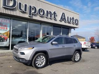 Used 2016 Jeep Cherokee 4 RM, 4 portes, Limited for sale in Alma, QC