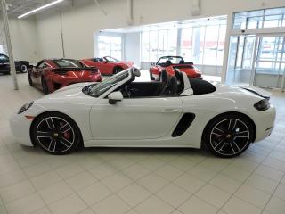 Used 2018 Porsche Boxster 718 S Roadster (Manuelle, Option ++) *Neuf* for sale in St-Georges, QC