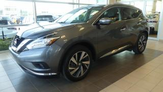 Used 2015 Nissan Murano Platinum AWD for sale in Laval, QC