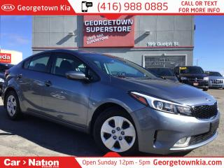 Used 2017 Kia Forte LX ONLY 13, 049KMS| B/U CAM| HEATED SEATS| LIKE NE for sale in Georgetown, ON