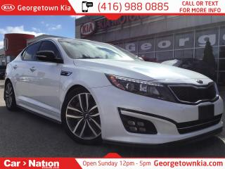 Used 2014 Kia Optima NAVIGATION | PANO ROOF | ONE OWNER |LEATHER| TURBO for sale in Georgetown, ON