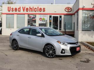 Used 2015 Toyota Corolla 4dr Sdn CVT S for sale in North York, ON