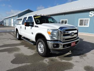 Used 2011 Ford F-250 XLT. Diesel. New tires. 4X4. for sale in Gorrie, ON