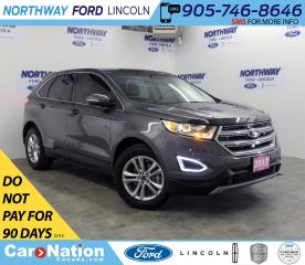Used 2017 Ford Edge SEL | HTD LEATHER | PANO-ROOF | NAV for sale in Brantford, ON