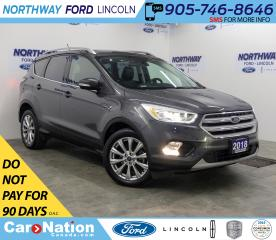 Used 2018 Ford Escape Titanium  | AWD | NAV | LEATHER | PANOROOF | for sale in Brantford, ON