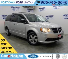 Used 2012 Dodge Grand Caravan SXT | STOW N GO | DUAL CLIMATE | LOW KMS! for sale in Brantford, ON