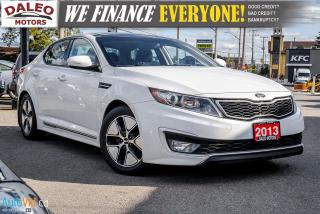 Used 2013 Kia Optima Hybrid|AUTOEX|NAV|HEATED&COOLSEATS|LEATHER|SUNROOF for sale in Hamilton, ON