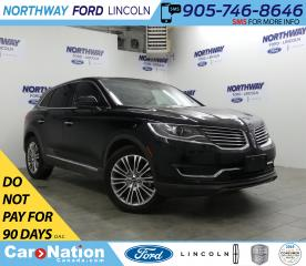 Used 2018 Lincoln MKX Reserve | NAV | LEATHER | PANOROOF | REAR CAMERA for sale in Brantford, ON