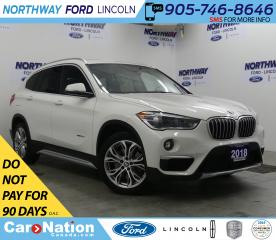 Used 2018 BMW X1 xDrive28i | LEATHER | PANOROOF | REAR CAMERA for sale in Brantford, ON