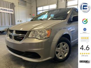 Used 2013 Dodge Grand Caravan SE STOWN'GO for sale in St-Hyacinthe, QC