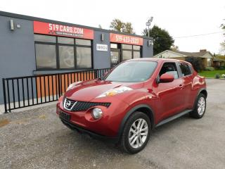 Used 2012 Nissan Juke SV|ALLOY WHEELS|AUX|BLUETOOTH for sale in St. Thomas, ON