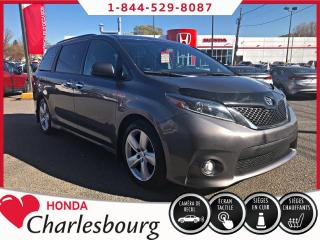 Used 2017 Toyota Sienna SE **37 755 KM** 8 MAG 8 PNEUS** for sale in Charlesbourg, QC