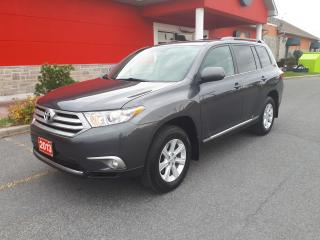 Used 2013 Toyota Highlander LE for sale in Cornwall, ON