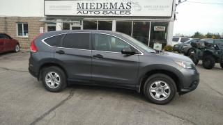 Used 2013 Honda CR-V LX for sale in Mono, ON