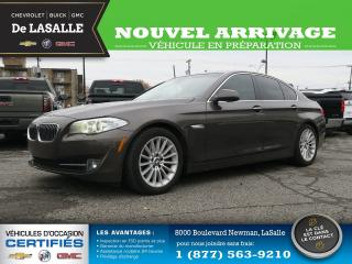 Used 2011 BMW 5 Series 535i for sale in Lasalle, QC