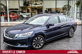 Used 2014 Honda Accord Touring - Cuir - Toit ouvrant - Gps - for sale in Ile-des-Soeurs, QC