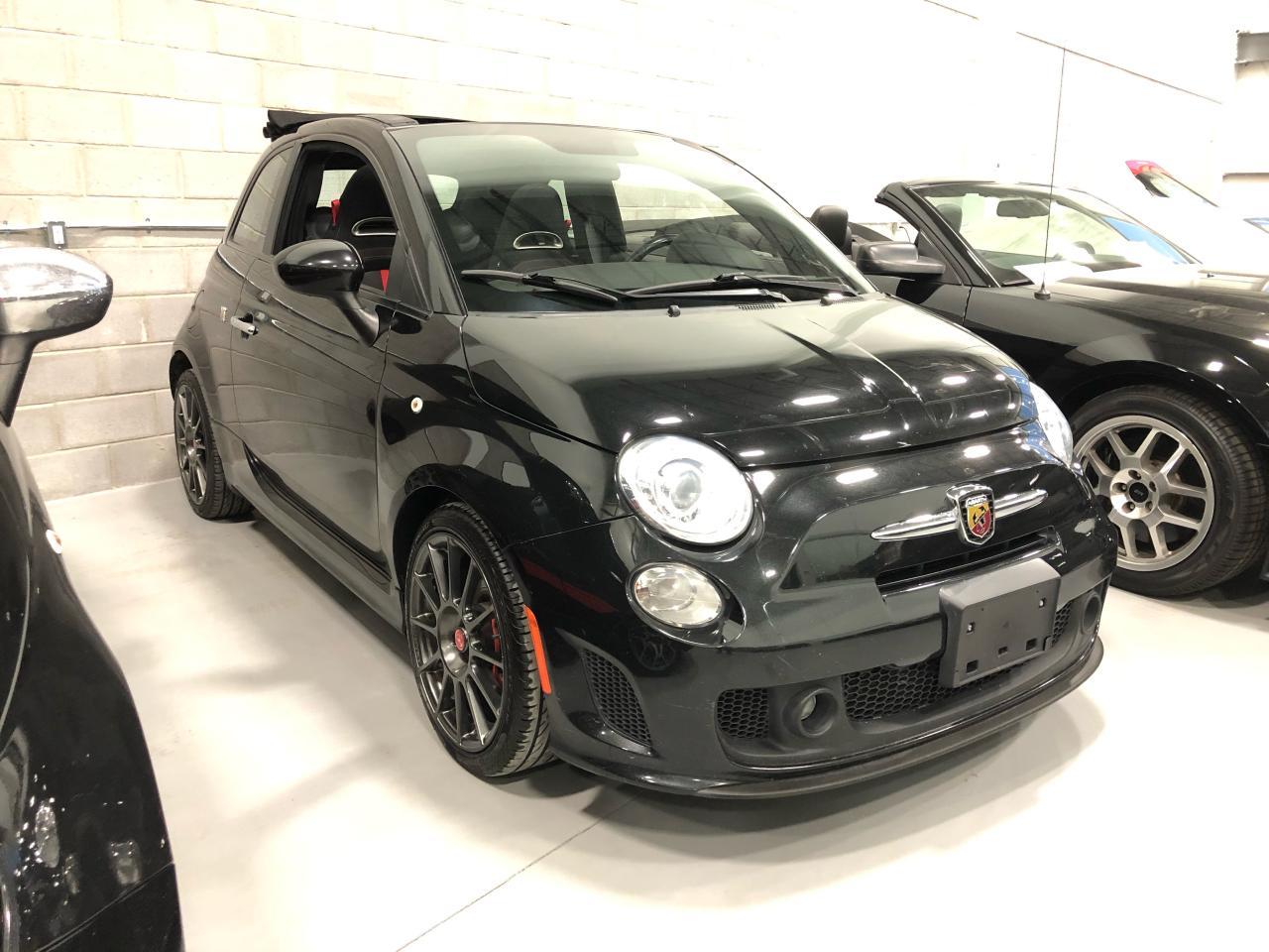 Photo of Black 2013 Fiat 500 Abarth