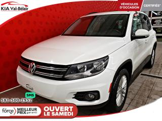 Used 2016 Volkswagen Tiguan *HIGHLINE*4 MOTION* CAMÉRA*BLUETOOTH* for sale in Québec, QC