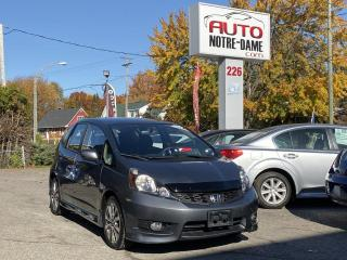Used 2014 Honda Fit Sport Mags Bluetooth A/C for sale in Repentigny, QC
